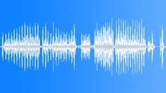 Wooden piece rasping - indoor - sound effect