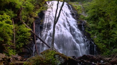 Waterfall and slow shutter speed 02 Stock Footage