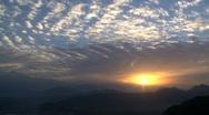 Stock Video Footage of Mountain sunrise