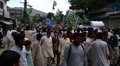 Islamic Party holds Protest Rally in Abbottabad, Pakistan Footage