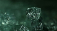Mystique Crystals (static close up) Stock Footage