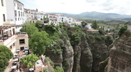 Stock Video Footage of Ronda Spain gorge P HD 9859