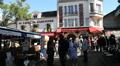 Montamartre view, Paris HD Footage