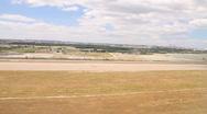 Landing at Barajas Madrid Spain 01 Stock Footage
