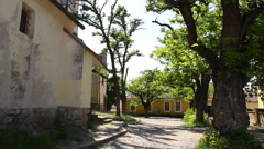 Old European Village 27 Stock Footage