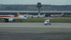 Airport 05 Madrid Barajas Stock Footage