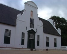 Cape Dutch Building at Groot Constantia, Cape Town GFSD Stock Footage