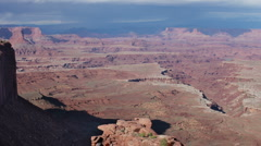Stock Video Footage of rock structures at canyonlands utah usa