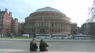 Royal Albert Hall 1 60i Stock Footage