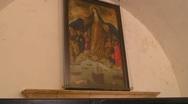 Puerto Rico - El Morro Fotress - Virgin of the Seas Chapel 1 Stock Footage