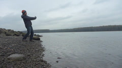 Skipping Stone Series Stock Footage