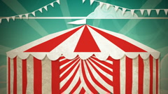 Circus Tent Entrance HD - stock footage