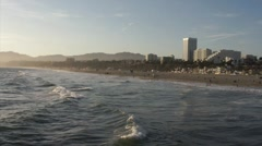 Santa Monica Beach HD Stock Footage