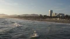 Santa Monica Beach HD - stock footage
