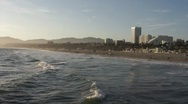Santa Monica Beach HD Stock Footage