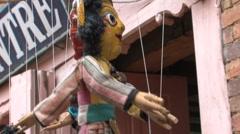 Bhaktapur, Nepal Stock Footage