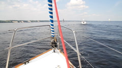 Sailing yacht Stock Footage