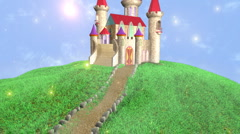 Castle HD Alpha Stock Footage