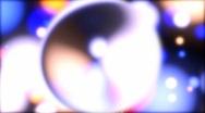 Micro cosmos rainbow drops (loops) HD Stock Footage