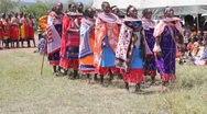 Stock Video Footage of Masai Women's Chorus  (HD)