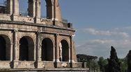 Coliseum and Sky - HD1080 Stock Footage