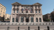 Stock Video Footage of Marseilles France Hotel de Ville P HD 0210