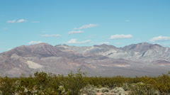 Death valley mountains2 Stock Footage