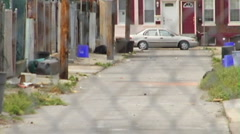 Philadelphia Allyway Stock Footage