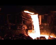 Moteln Slag/Magma and Lava Stock Footage