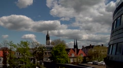Timelapse of Delft Stock Footage