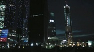 Stock Video Footage of Night Moscow City 6