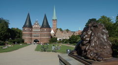 Luebeck, Germany Stock Footage