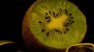 Stock Video Footage of kiwi  kiwifruit 10 seconds 1 Timelapse HD