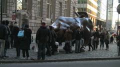 Wall Street Bull 1 Stock Footage