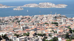 Marseille France harbor P HD 8712 Stock Footage
