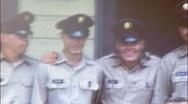 AMERICAN SOLDIERS BUDDIES Barracks BOOTCAMP 1960s Vintage Film Home Movie 102 Stock Footage