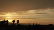 Stock Video Footage of Mystic Sunrise Time Lapse in Hollywood HD