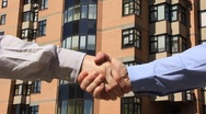 Business handshake Stock Footage