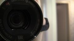 Canon Camera lens Stock Footage