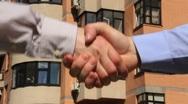 Stock Video Footage of Business handshake