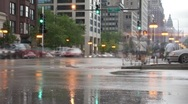 Roosevelt Rd in Chicago Time Lapse HD Stock Footage