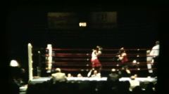 Boxing  Match Stock Footage
