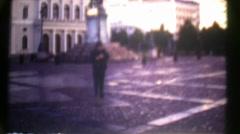 Vintage Super 8 Film Gothenburg Sweden III Stock Footage