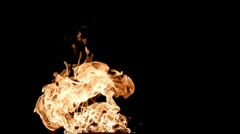 Flames Stock Footage