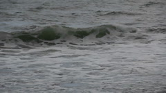 Wave and foam Stock Footage