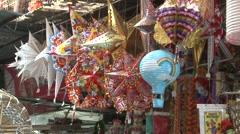 Crawford market, Mumbai, India Stock Footage