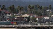 Santa Cruz, CA. Stock Footage