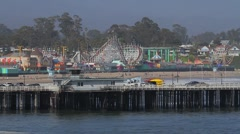 Stock Video Footage of Santa Cruz, CA.
