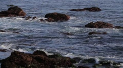 Rugged Coastline in California Stock Footage