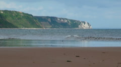 Sidmouth, Devon, UK Stock Footage